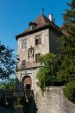 Vecchio castello a Meersburg, Germania Immagine Stock Libera da Diritti