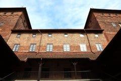 Vecchio castello Nidzica della Polonia Fotografia Stock Libera da Diritti