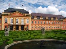 Vecchio castello - Repubblica ceca Dobris fotografia stock libera da diritti