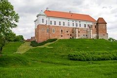 Vecchio castello in Sandomierz, Polonia Immagini Stock