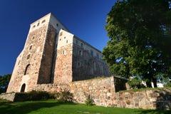 Vecchio castello a Turku Fotografia Stock Libera da Diritti