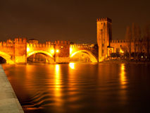 Vecchio Castle in Verona Royalty Free Stock Images