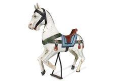 Vecchio cavallo del giocattolo Immagini Stock