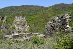 Vecchio cavolo di Markovo della fortezza Immagini Stock Libere da Diritti