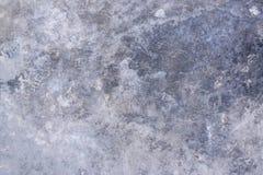 Vecchio cemento concreto grigio lucidato di struttura del pavimento Fotografie Stock