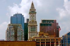 Vecchio centro di Boston Immagini Stock Libere da Diritti