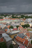 Vecchio centro di Riga, Latvia Fotografia Stock Libera da Diritti