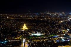 Vecchio centro di Tbilisi Fotografia Stock Libera da Diritti