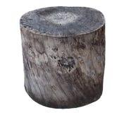 vecchio ceppo di legno Immagine Stock Libera da Diritti