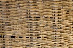 Vecchio cestino di legno Immagini Stock