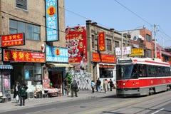 Vecchio Chinatown di Toronto immagine stock