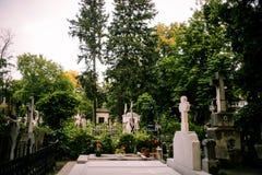 Vecchio cimitero Fotografie Stock Libere da Diritti