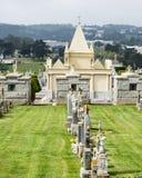 Vecchio cimitero Immagini Stock Libere da Diritti