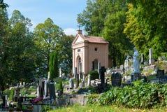 Vecchio cimitero, Banska Bystrica Immagini Stock