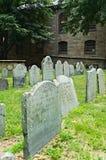 Vecchio cimitero di Boston fotografia stock
