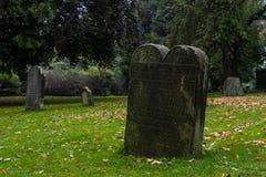 Vecchio cimitero in Germania Immagine Stock