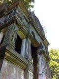 Vecchio cimitero StPeterburg di Cript Nikolskoe Immagini Stock Libere da Diritti