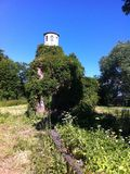 Vecchio cimitero StPeterburg di Cript Nikolskoe Immagine Stock Libera da Diritti