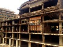 Vecchio cinema a Beirut, Libano Immagini Stock Libere da Diritti