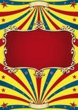 Vecchio circo di carta Immagini Stock
