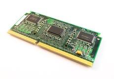 Vecchio circuito del computer Fotografia Stock