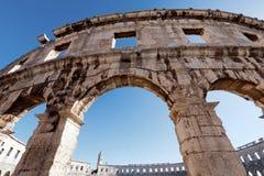 Vecchio Colosseo romano Fotografia Stock Libera da Diritti
