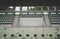 Vecchio Colosseo verde, campo da tennis fotografia stock