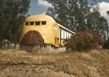 Vecchio commensale ferroviario Fotografia Stock Libera da Diritti