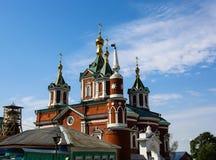 Vecchio complesso della chiesa vicino a Mosca, Kolomna Fotografie Stock