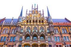 Vecchio comune famoso di Monaco di Baviera - Germania immagine stock libera da diritti