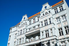 Vecchio condominio a Berlino Immagine Stock Libera da Diritti