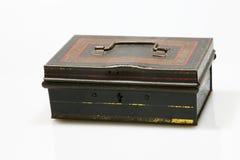 Vecchio contenitore di metallo Fotografie Stock