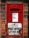 Vecchio contenitore di posta Immagini Stock Libere da Diritti