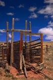 Vecchio Corral Fotografia Stock Libera da Diritti