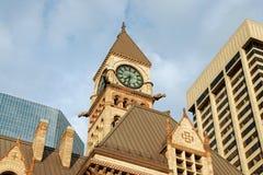 Vecchio corridoio di città di Toronto Immagini Stock