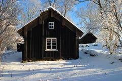 Vecchio cottage. Fotografia Stock