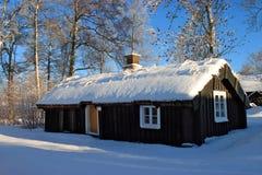 Vecchio cottage. Fotografie Stock