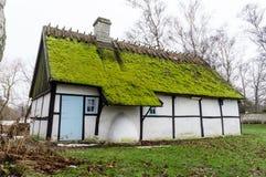 Vecchio cottage Immagini Stock