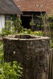 Vecchio cottage degli agricoltori Immagini Stock Libere da Diritti