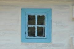 Vecchio cottage in Ucraina Fotografie Stock