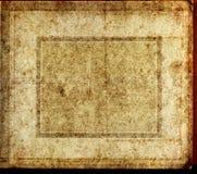 Vecchio creativo di carta di struttura Immagini Stock