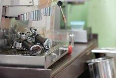 Vecchio creatore di caffè Immagini Stock Libere da Diritti