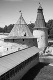 Vecchio Cremlino di Pskov, Federazione Russa Fotografia Stock Libera da Diritti