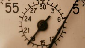 Vecchio cronometro video d archivio