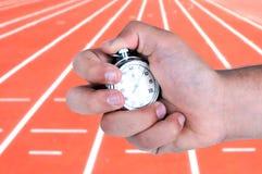 Vecchio cronometro del laboratorio Fotografia Stock