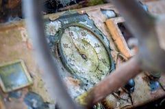 Vecchio cruscotto Fotografie Stock Libere da Diritti