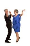 Vecchio dancing delle coppie Fotografie Stock