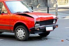 Vecchio danno dell'automobile Fotografie Stock