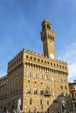 Vecchio de Palazzo en Florencia imagen de archivo libre de regalías