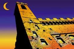 Vecchio de Palazzo en Florencia - Italia Imagenes de archivo